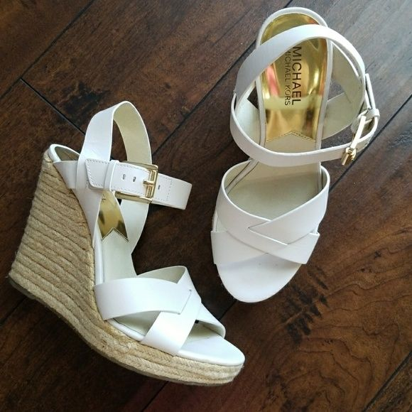 549471736fa Michael Kors - Viola Espadrille Leather 5 inch heel sandal in ...