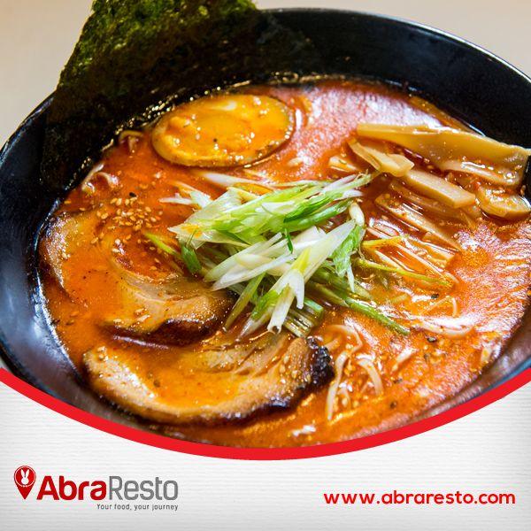 Who doesn't love Ramen? Semua pasti suka Mie asal Jepang ini bukan? Yuk hunting Ramen disini http://bit.ly/AbraRestoRamen