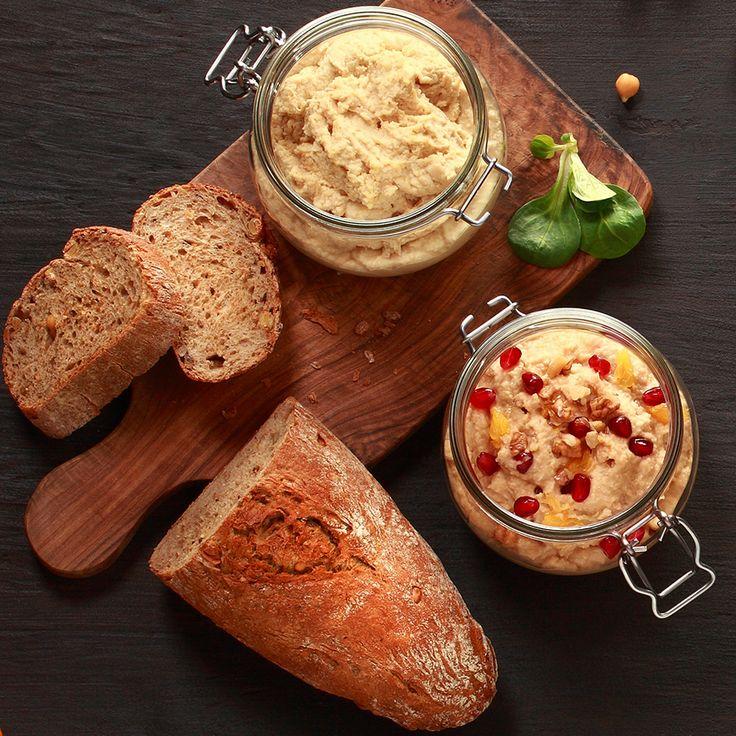 Hummus klasyczny i smakowy - Oliwier