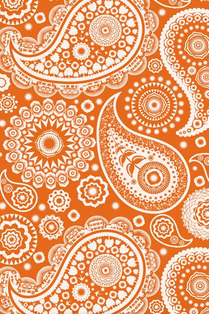 Paisley Crescent Wallpaper - Kids Wallpaper Ideas & Designs (houseandgarden.co.uk)