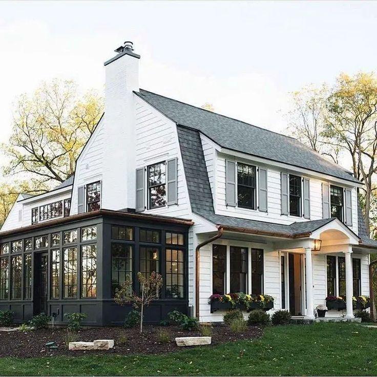 Colonial Home Design Ideas: 45 Stunning Modern Dream House Exterior Design Ideas 24