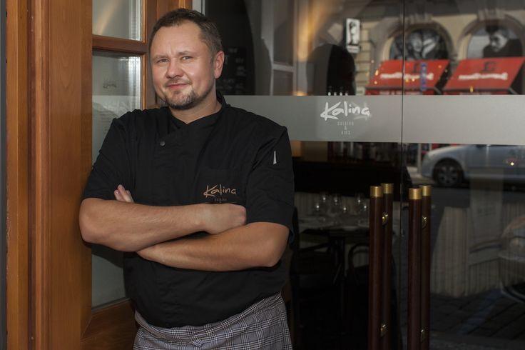 Náš šéfkuchař Mirek Kalina - Our chef Mirek Kalina