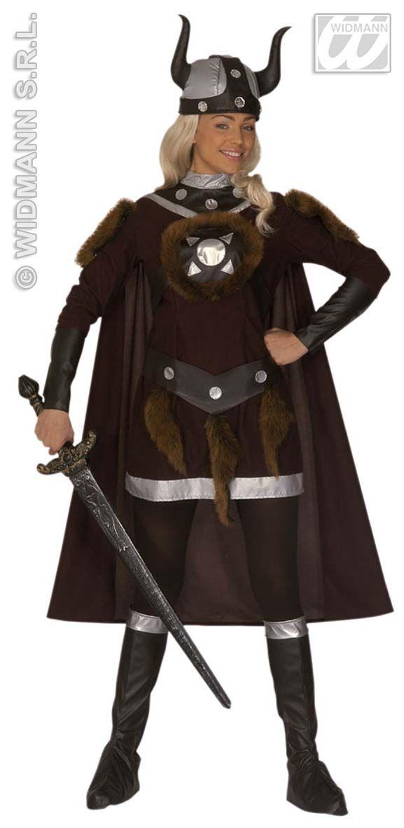 Disfraz de Vikinga http://www.disfracessimon.com/disfraces-vikingos-adulto-hombre-mujer/55-disfraz-vikinga-p-55.html