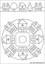 Mandala - huis kern 4