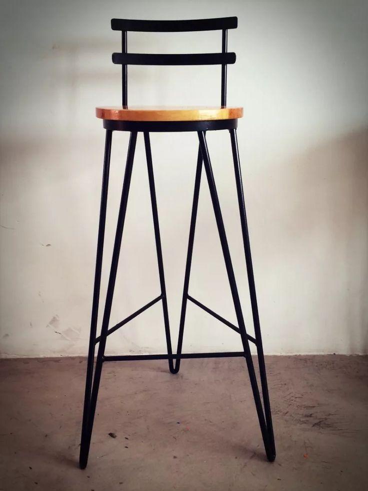 Las 25 mejores ideas sobre banqueta bar en pinterest for Sillas altas de madera