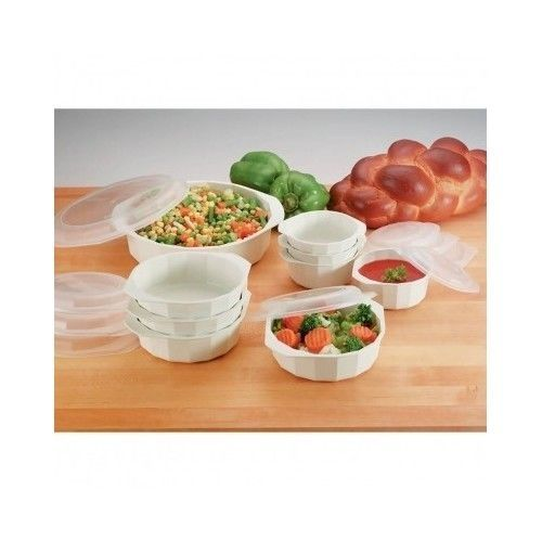 Microwave Cookware Set 18 Pc Food Storage Lids Containers Bowls Kitchen Cooking  #Lacuisine