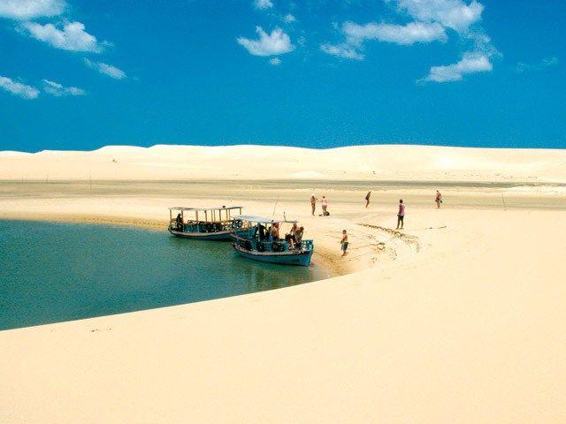 Galinhos, no Rio Grande do Norte - Brasil