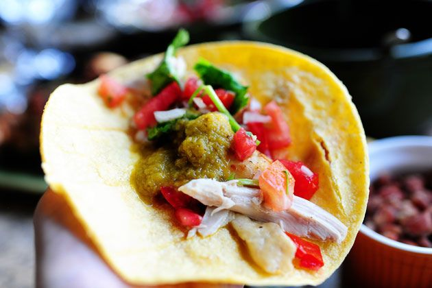 Pollo Asada from The Pioneer Woman. The marinade is fabulous. I make this recipe with boneless, skinless chicken breasts too!