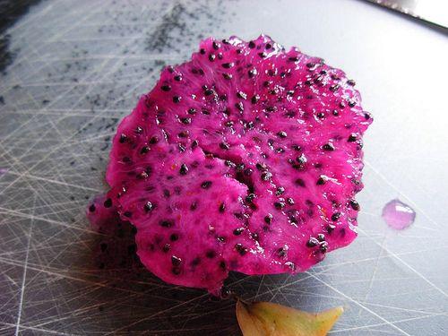 ▷ Exotisches Drachenfruchteis (Pitahaya) ohne Eismaschine