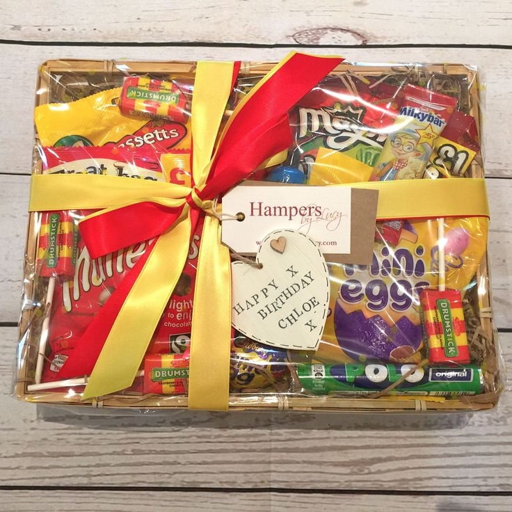 Best 25 birthday hampers ideas on pinterest diy birthday hamper sweet hampers make lovely gifts for friends or family either as a birthday get well fathers day easter gift or just to say thank you negle Choice Image