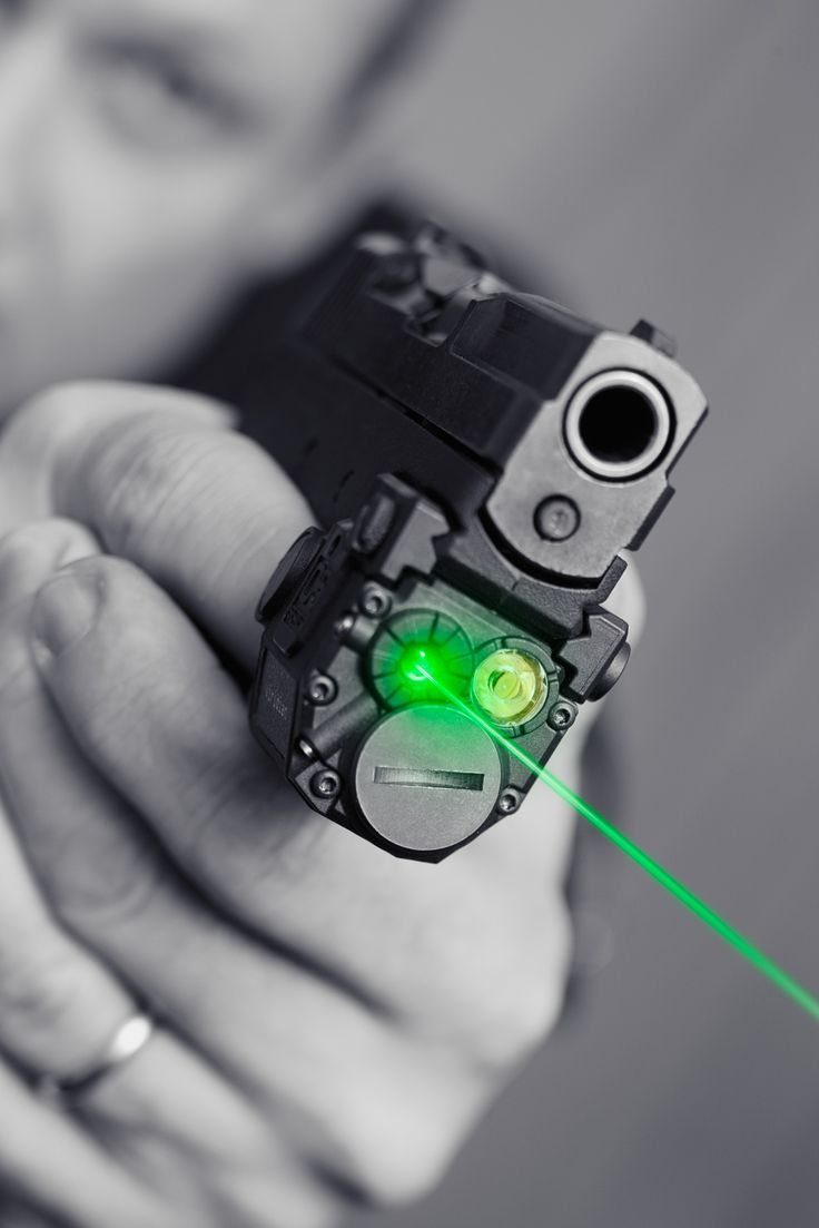 Pistol-Mounted Lasers in Combat