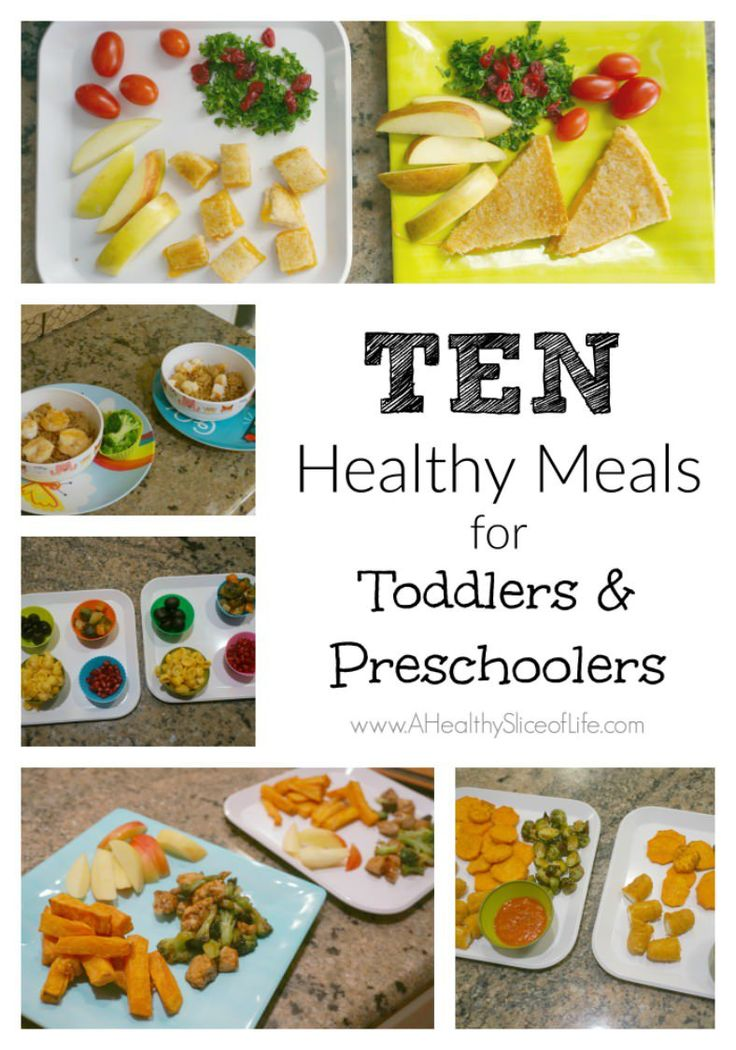 Simple, quick and healthy meals to feed toddlers and preschoolers alike.