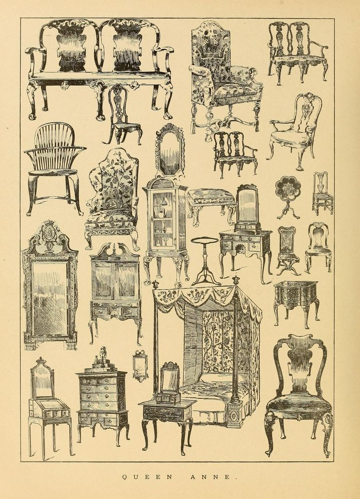 Period furnishings; an encyclopedia of historic... Furniture StylesAntique  Furniture - 67 Best Decorating - Antique & Period Furniture Styles