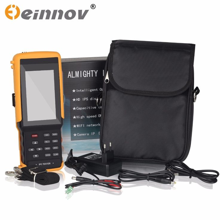 217.08$  Buy here  - EINNOV five in one CCTV tester monitor IP HD AHD CVI TVI analog camera testing 1080P wifi onvif PTZ control 12V output
