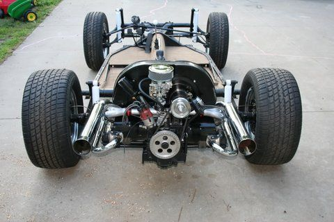 Vw beetle bare rolling chassis