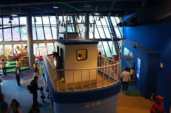 兒童廳-國立海洋科技博物館 - 景點 - 親子就醬玩