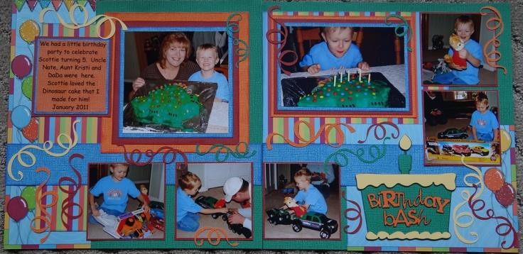 birthday bash cricut cartridge handbook
