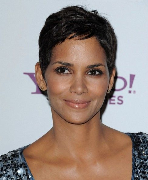 Halle Berry Hair-  I think I'm going to go back really short again.  I don't like this growing my hair out stuff.  I'll just be the odd one out with short hair.