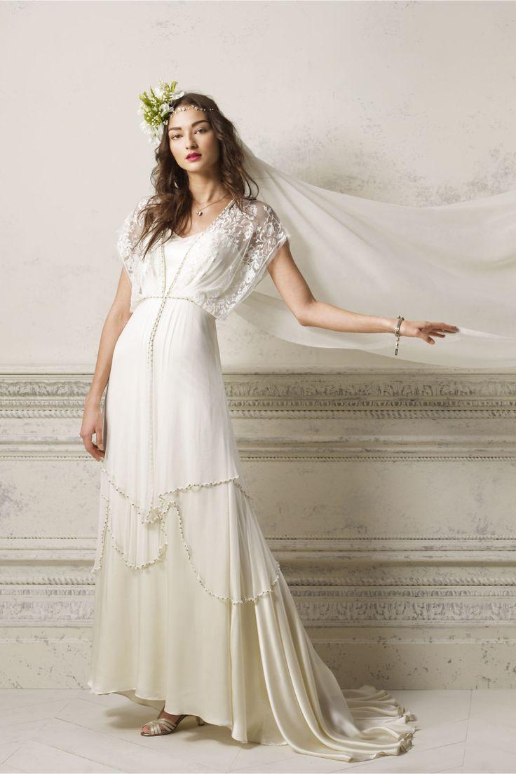 Simple Beach Wedding Gown