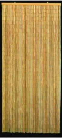 Amazon.com: Natural Bamboo Bead Door Curtain  64 Total Strands!!: