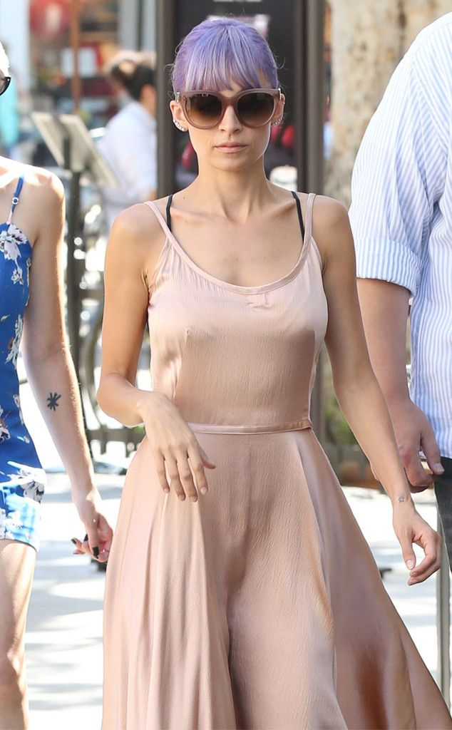 Nicole Richie is perfection in this romantic nude number!