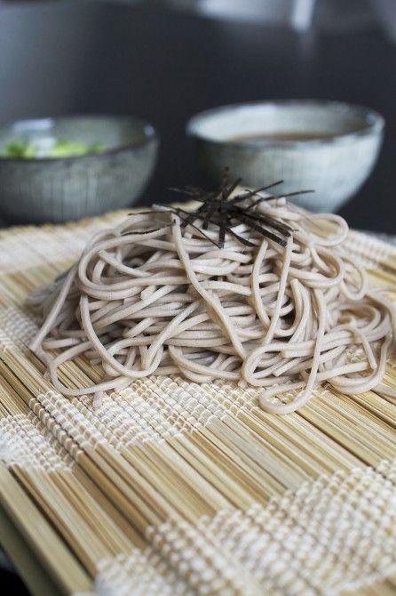 Soba nudler // soba noodles