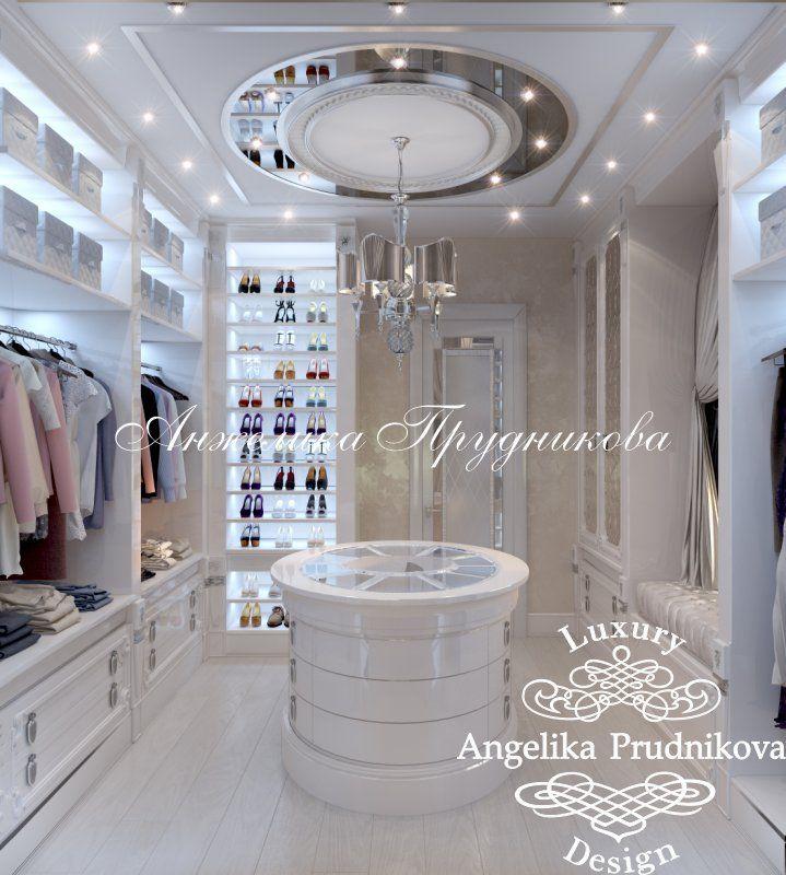 Дизайн проект гардеробной комнаты в поселке Орловъ. Фото 2017 - Дизайн гардеробной
