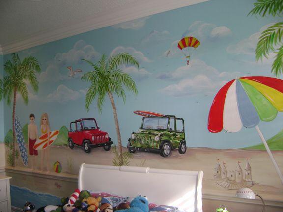 29 Best Images About Beach Murals On Pinterest