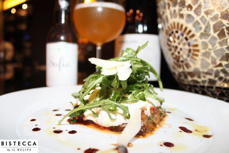 Bistecca by Il Mulino has a great special tonight!  Come out and try their flavorful and robust Eggplant Al Forno.  Enjoy it with a Chef's Choice Belgian Style Farmhouse Ale.