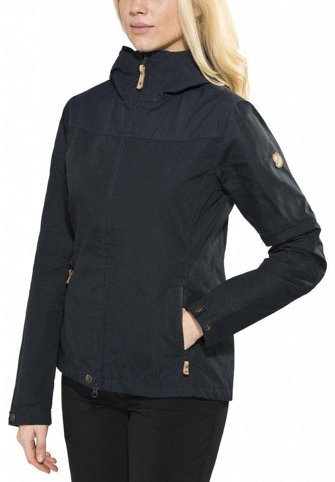 #Fjällräven #Damen #Fjällräven #Outdoorjacke #�Stina #Jacket #Women #� #blau Beqüme Jacke aus strapazierfähigem G-1000 Original mit G-1000 Lite an den Schultern. Ein praktischer Begleiter, der für den Alltag genauso geeignet ist wie für Outdoor-Aktivitäten. Vorgeformte Ärmel und angeschnittene Kapuze, die sich perfekt ums Gesicht schmiegt. Für zusätzlichen Witterungsschutz kann der Stoff gewachst werden.G-1000 Original Strapazierfähiges und anpassungsfähiges Material von Fjällräven. Das…