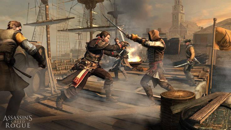 Assassin's Creed: Rogue PC release date confirmed  #acrogue #assassinscreed #pc #gaming #news #vgchest
