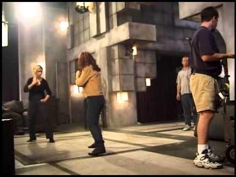 Behind the Scenes Stunt Footage from BUFFY THE VAMPIRE SLAYER | Nerdist