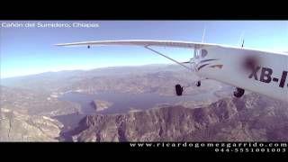 Tour en avion por Chiapas