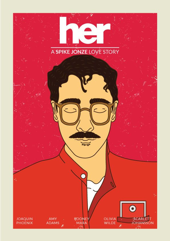 "Check out my @Behance project: ""Her - A Spike Jonze Love Story"" https://www.behance.net/gallery/44149331/Her-A-Spike-Jonze-Love-Story"