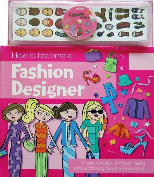 Buku Aktifitas Bahasa Inggris : How to become a Fashion Designer New Mini Maestro Series
