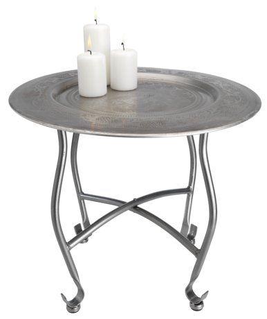 Hopfällbart bord ALBIN Ø41xH36cm | JYSK