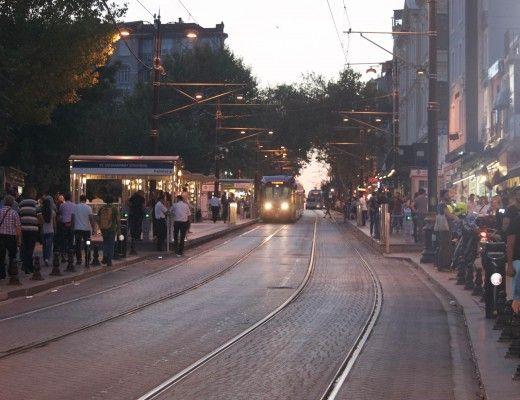 Tramvai in Istanbul
