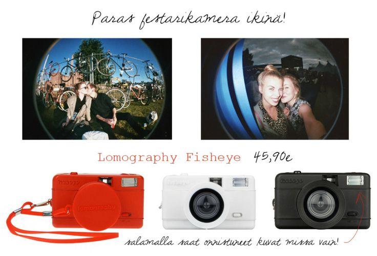 Plastic Cameras - fisheye filmikamera 45,90€