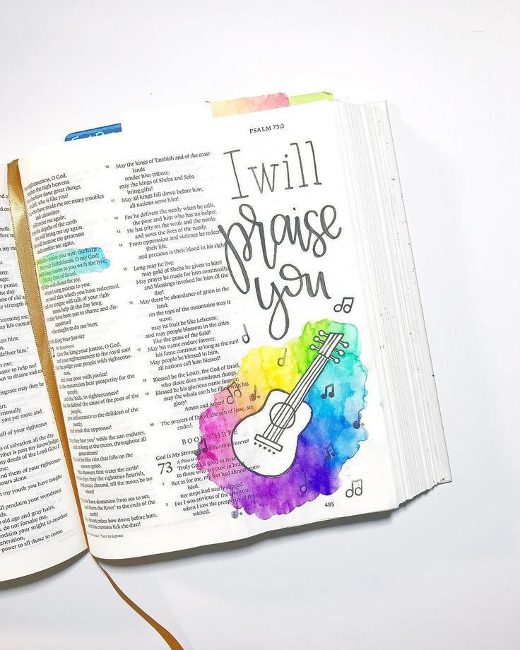 Psalm 72 / nickicreates