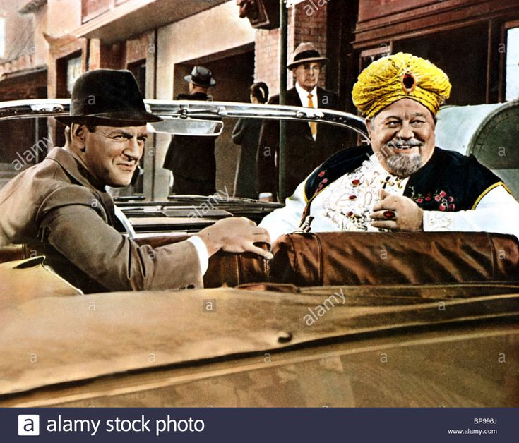 TONY RANDALL & BURL IVES THE BRASS BOTTLE (1964 Stock Photo, Royalty Free Image: 30937610 - Alamy