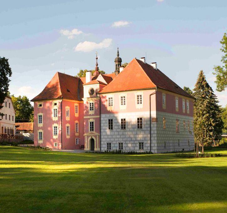 Koloděje nad Lužnicí chateau (South Bohemia), Czechia