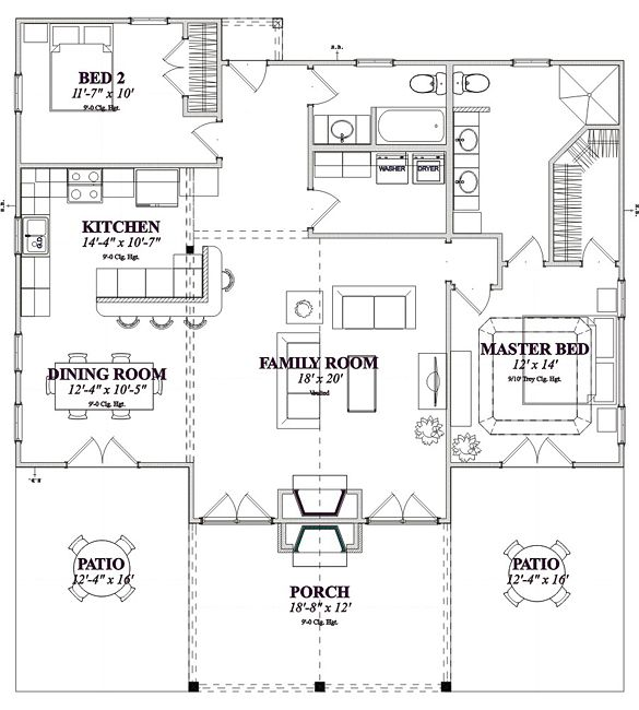 77 best images about empty nester home plans on pinterest for Best empty nester house plans