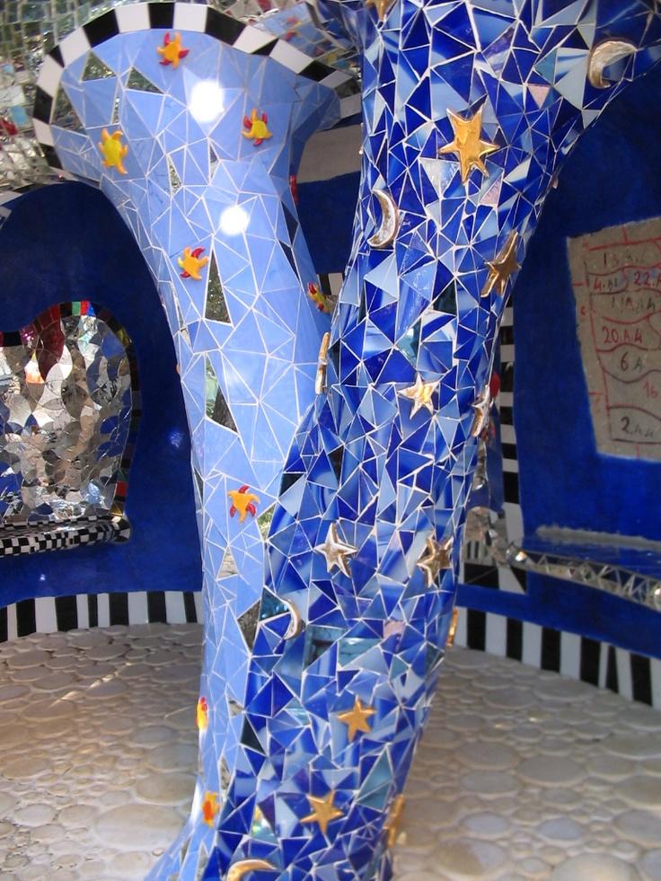 Niki de Saint Phalle - Il Giardino dei Tarocchi - Capalbio, Italy