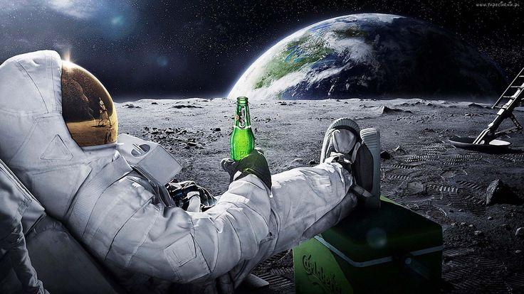 Carlsberg, Kosmos, Astronauta