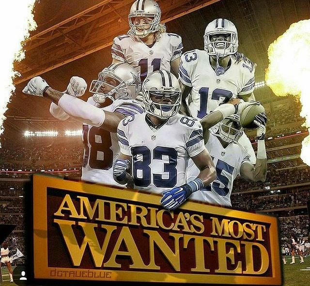 America's Most Wanted Dallas Cowboys