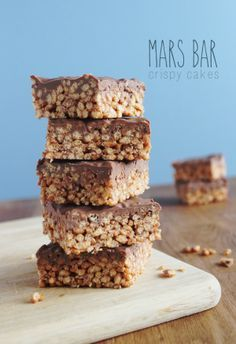 Mars Bar Crispy Cake Recipe - Delicious and so quick and easy to make.