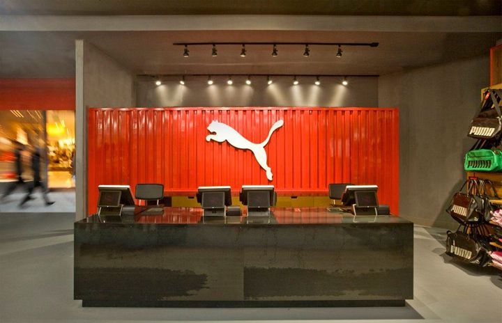 Puma store by Nathan Lee Colkitt Architects, Ontario – California
