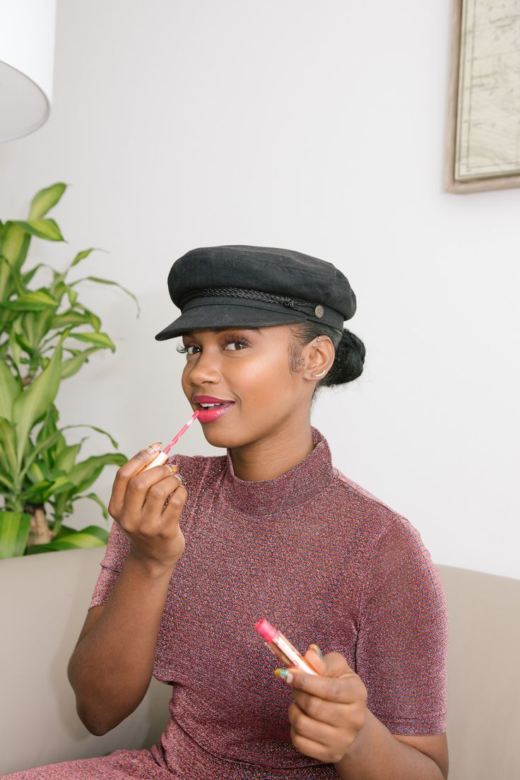 DJ Brittany Sky Shares Her Morning and Night Beauty Routines: No matter where Brittany Sky is in the world, she is always looking A1. Which led us to getting the downlow on all of her beauty, skincare and hair secrets. -- Sheer rose dress and black hat     coveteur.com
