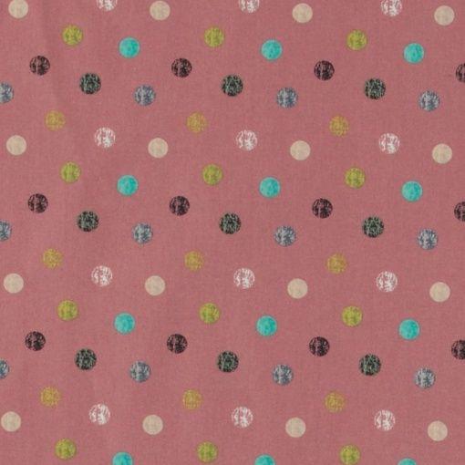 Baumwolle, Pflaume mit abstrakten Punkte
