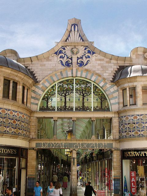Royal Arcade, Norwich, Norfolk, England